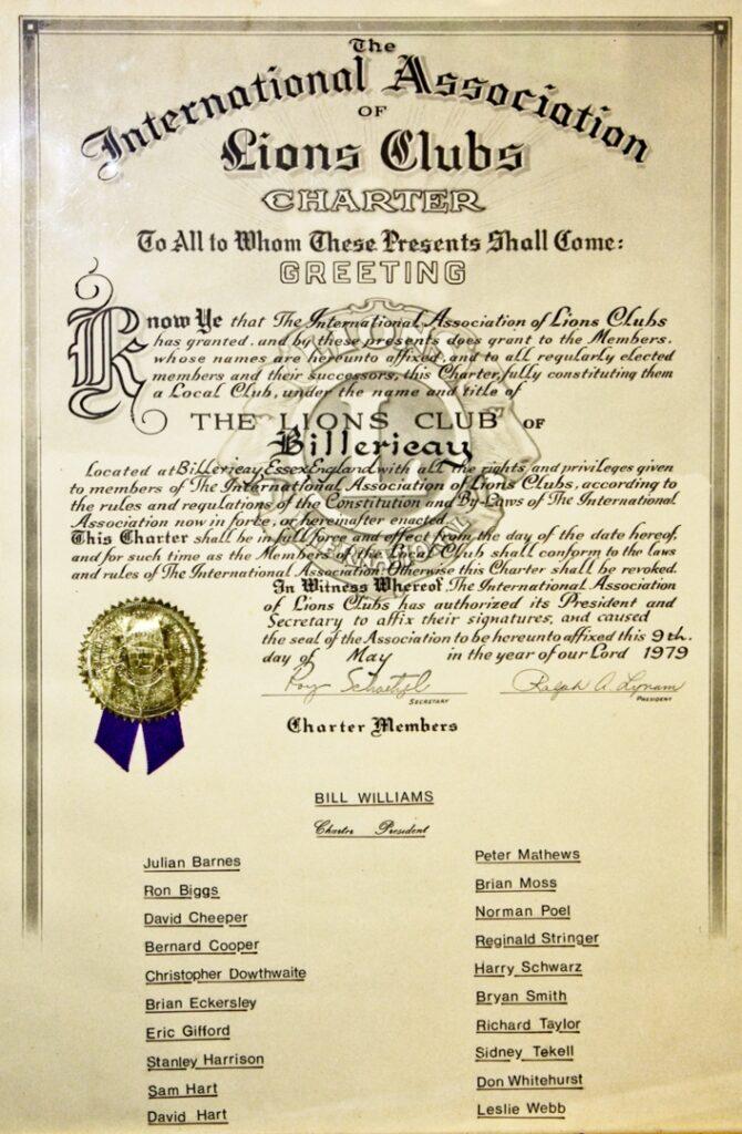 charter document